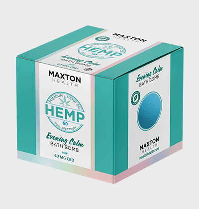 CBD Hemp Bath Bomb Boxes