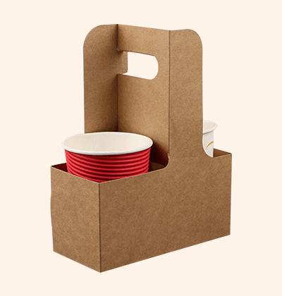 Custom Cardboard Cup Carriers