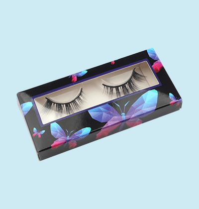 Custom Printed Eyelash Extension Packaging Box