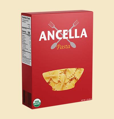 Custom Printed Pasta Boxes