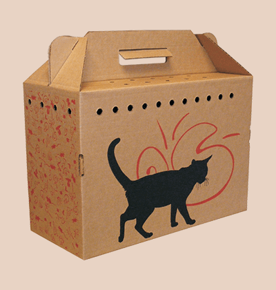 Custom Cardboard Pet Carriers