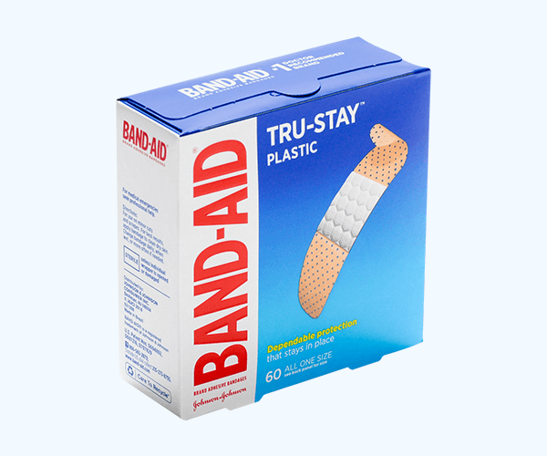 Custom Bandage Box Packaging