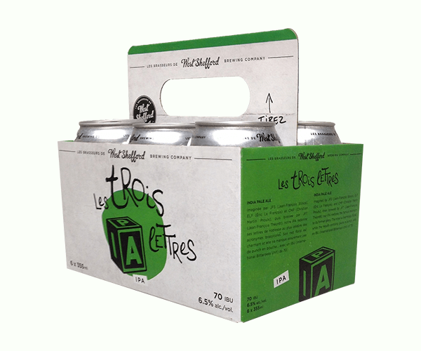 Custom Printed 6-Pack Beer Carriers