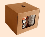 4-Pack Beer Can Carrier & Tote Boxes