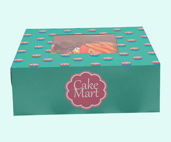 Custom Cake Box Packaging