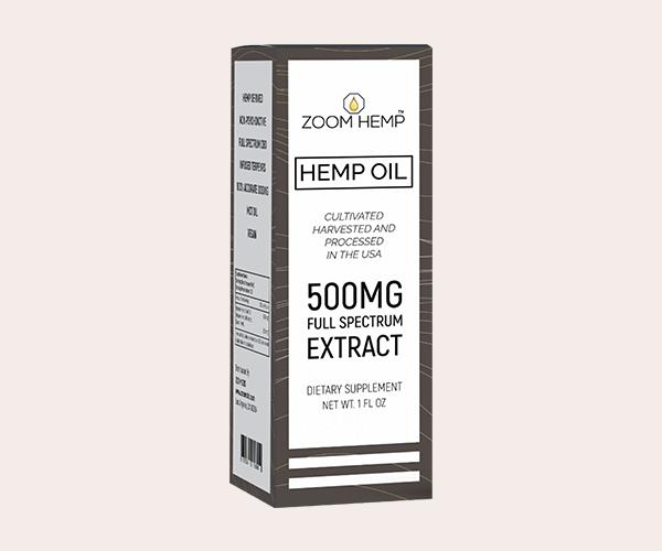 CBD Hemp Oil Box Packaging