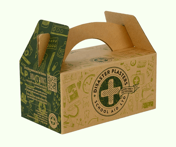 take away boxes made by corrugated material