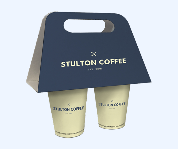Custom Printed Take-Out Cup Carriers
