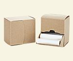Kraft Dispenser Box