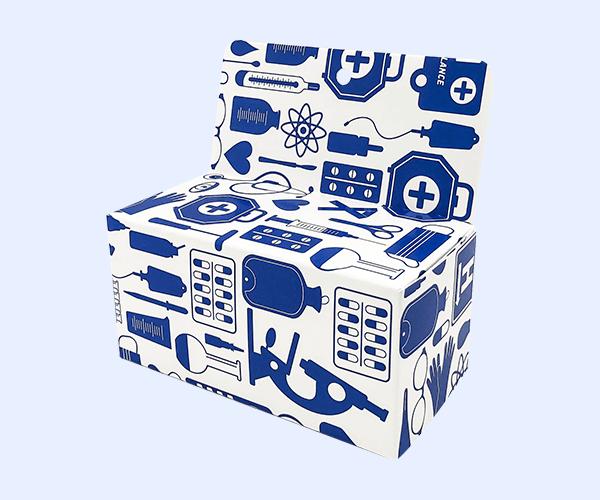 Custom Display Hanger Box