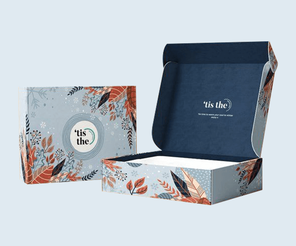 Double Sided Printed Mailer Boxes