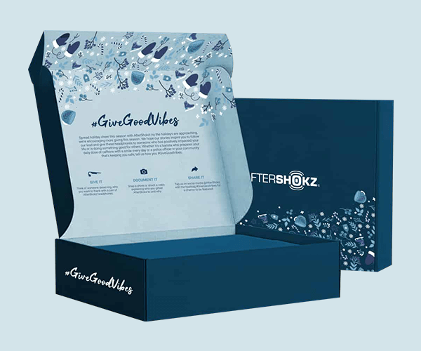 Custom Printed Double Sided Printed Mailer Boxes