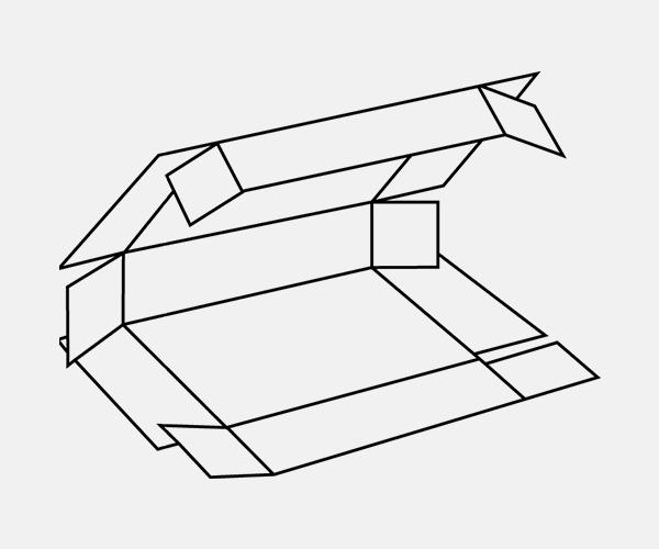 Five Panel Folder Box Style