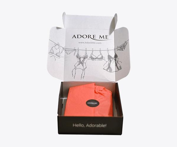 Custom Printed Lingerie Packaging Boxes
