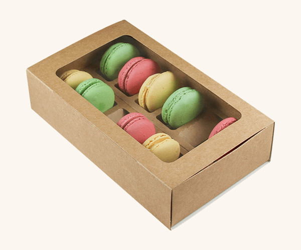 Custom Printed Macaron Packaging Boxes