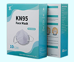 Custom Printed Face Mask Packaging Boxes