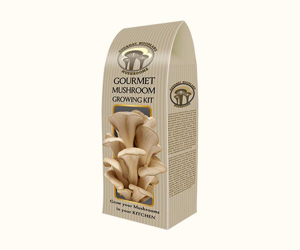 Custom Mushroom Growing Kit Packaging