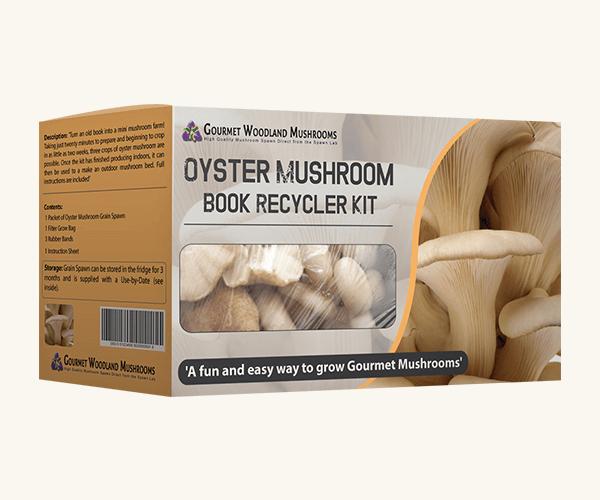 Custom Printed Mushroom Kit Packaging Boxes
