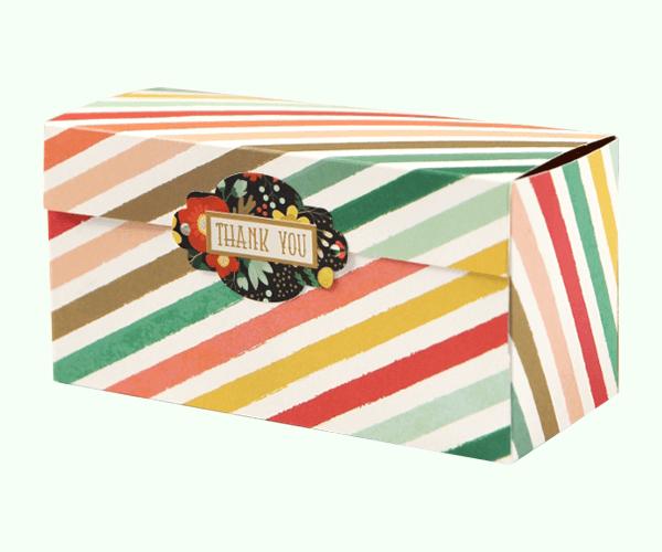 Custom Printed One Piece Folder Box