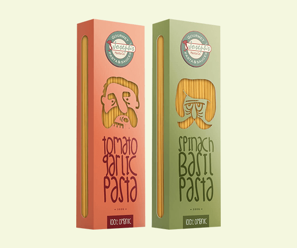 Custom Printed Pasta Boxes