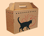 Cardboard Cat Carrier