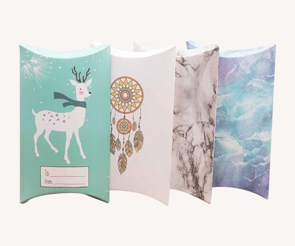 Custom Pillow Gift Boxes