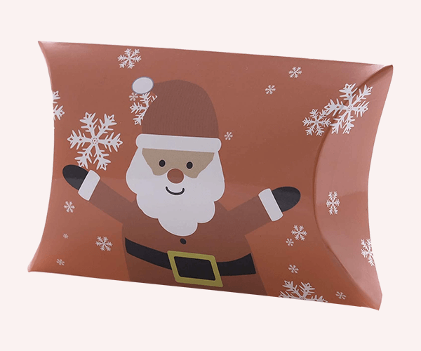 Custom Printed Pillow-shaped Gift Boxes