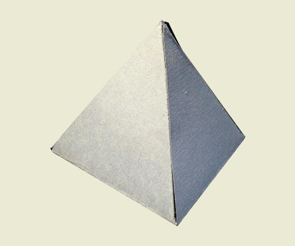 Pyramid Shaped Boxes