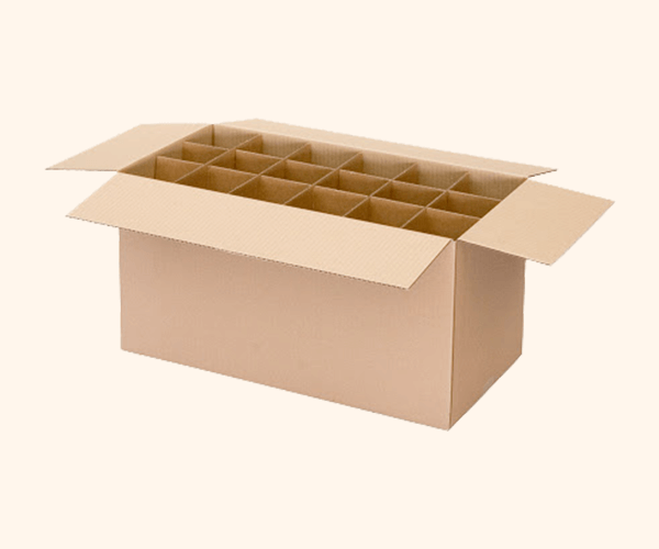 Regular Slotted Container with Divider/Partition