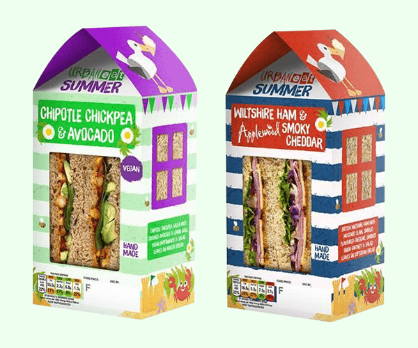 Custom Printed Sandwich Packaging Boxes