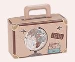 Custom Printed Suitcase Boxes