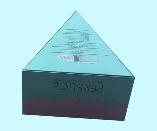 Custom Printed Triangular Boxes