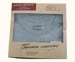 Custom Printed Undershirt Packaging Boxes
