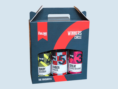 Custom Cardboard Beer Carriers
