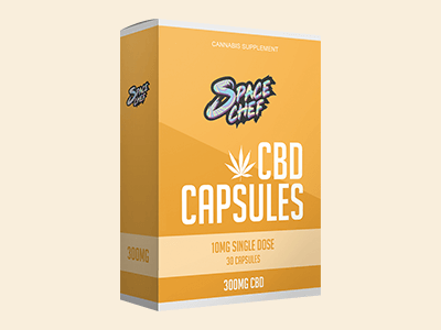 Custom Printed CBD Hemp Capsule Boxes