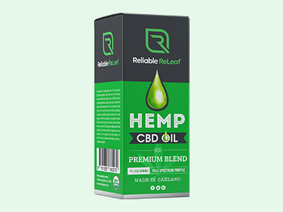Custom Printed CBD Hemp Oil Boxes