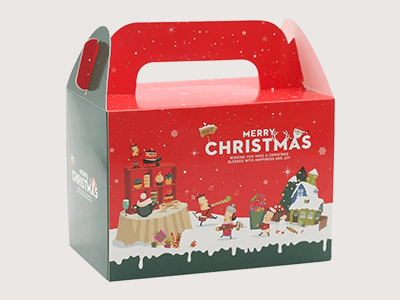 Custom Printed Christmas Gift Boxes