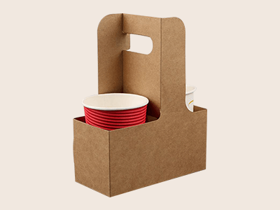 Custom Cardboard Cup Carriers