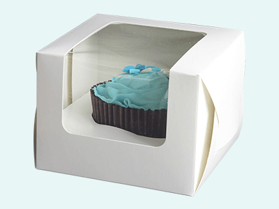 Custom Printed Cupcake Boxes