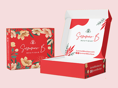 Double Sided Printed Mailer Box