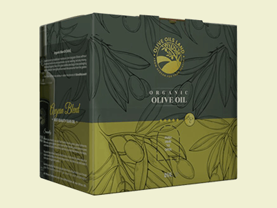Custom Printed Olive Oil Boxes
