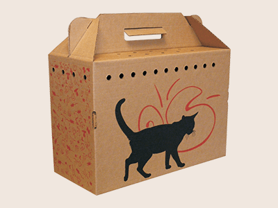 Custom Cardboard Pet Carriers