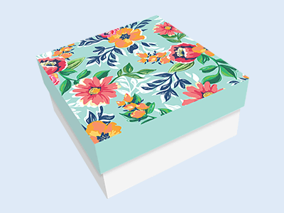 Custom Printed 2-Piece Gift Boxes