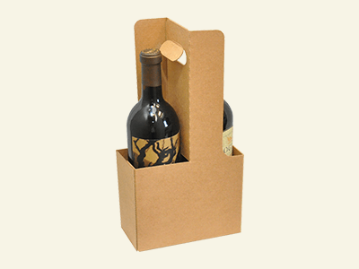 Custom Wine Carriers and Tote Boxes