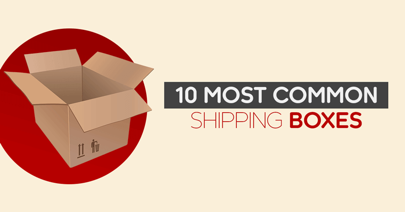 Common Shipping Boxes